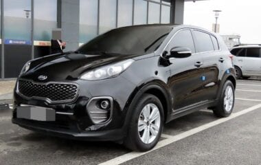 2017 KIA Sportage 4th Gen